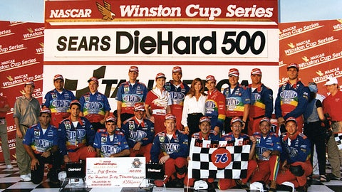 Celebrating 20 years of winning races with Jeff Gordon