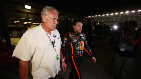 A pictorial look at Tony Stewart's first race back