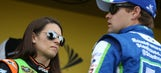 Standing by her man: Danica has boyfriend Ricky's back on Twitter