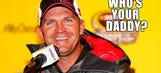 How's Clint Bowyer doing as a daddy?