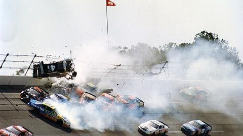 Photos: When the 'Big One' strikes at Talladega Superspeedway