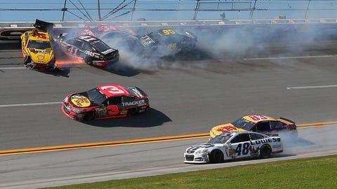 Talladega: The Chase's 'Wild Car' Race