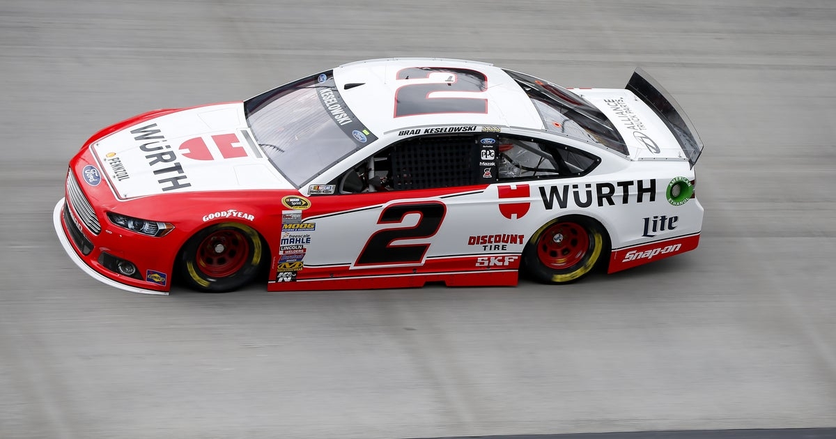 Wurth Group Returning As A Primary Sponsor For Keselowski
