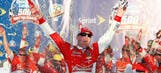 Happy Hero: Harvick wins final Chase Eliminator Round race in Phoenix