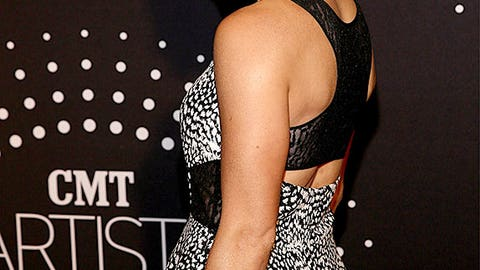 Danica Patrick makes appearance at awards show
