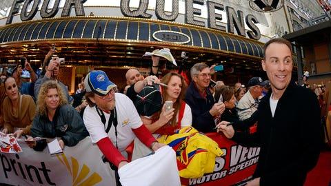 Happy in Vegas: Harvick celebrates Champion's Week