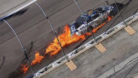 NASCAR's biggest wrecks of 2014