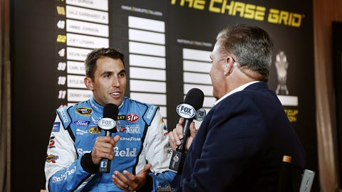 Hard knocks: Aric Almirola's bumpy 2014