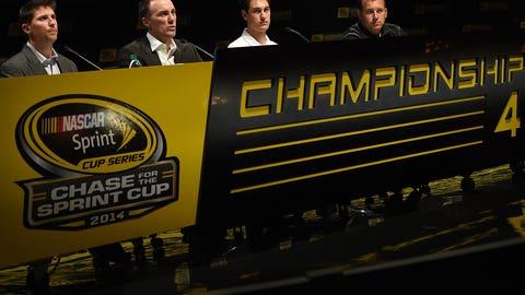 Photos: Denny Hamlin's rocky road to the Championship 4.
