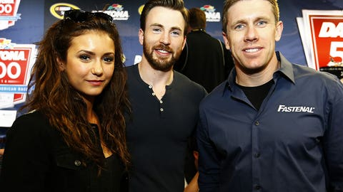 Photos: Celebrities at NASCAR events in 2014