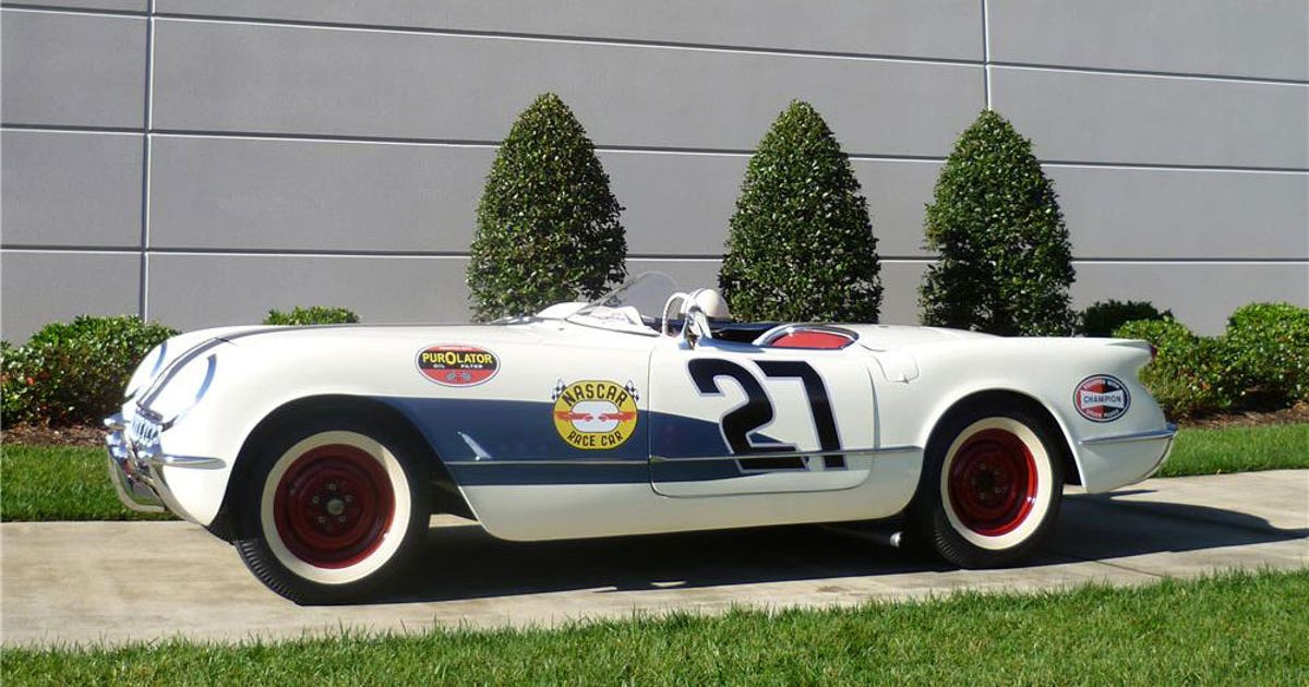 Old-school: 1953 Corvette up for auction has historic ties to ...