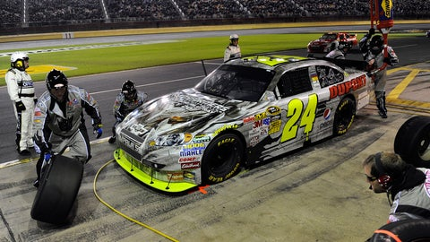 End of the rainbow: Jeff Gordon's paint schemes throughout the years