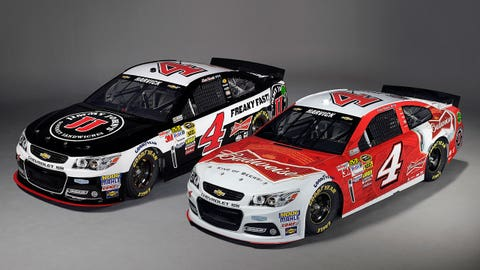 Kevin Harvick's 2015 Sprint Cup Series paint schemes