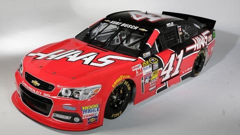 Kurt Busch's 2015 Sprint Cup Series paint scheme