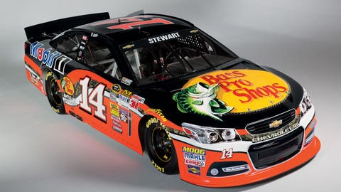 Tony Stewart's 2015 Sprint Cup Series paint scheme