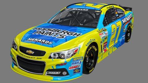 Paul Menard's 2015 Sprint Cup paint schemes