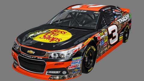 Austin Dillon's 2015 Sprint Cup paint schemes