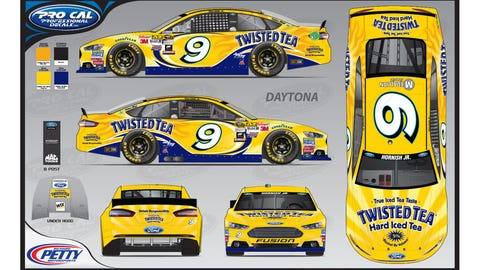 Sam Hornish Jr.'s 2015 Sprint Cup paint scheme