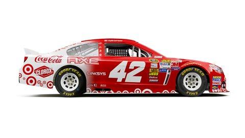 Kyle Larson's 2015 Sprint Cup paint scheme
