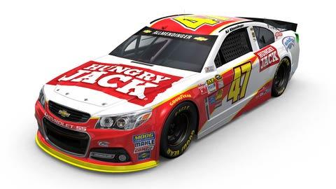 Photos: 2015 paint schemes for JTG Daugherty Racing