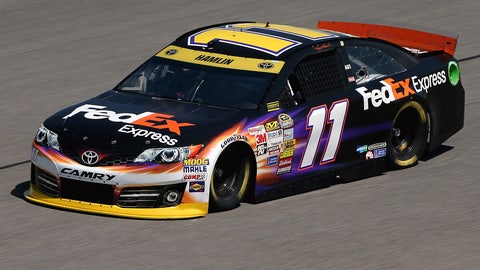 2. Will Denny Hamlin be as good this year as he was last year?