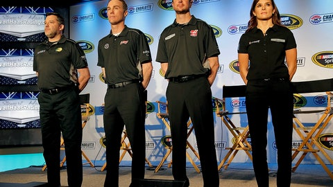 7. Who is Kevin Harvick's stiffest competition at Stewart-Haas Racing?