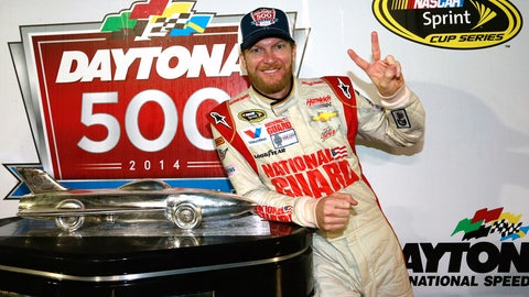 10. Will Dale Earnhardt Jr. win his second consecutive Daytona 500?
