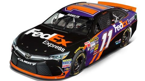 Denny Hamlin's 2015 Sprint Cup paint scheme