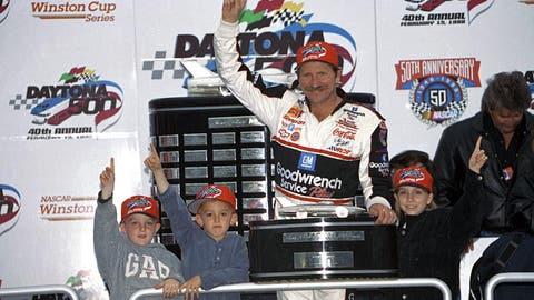 Through the years: The Earnhardts at Daytona