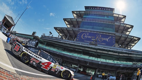 10. Indianapolis Motor Speedway, Kevin Harvick, 188.889 mph, July 26, 2014