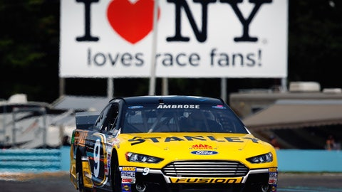 21. Watkins Glen International, Marcos Ambrose, 129.491 mph, Aug. 9, 2014