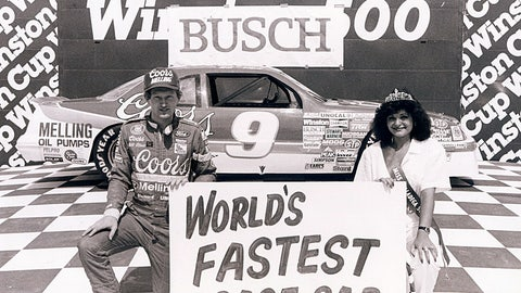 1. Talladega Superspeedway, Bill Elliott, 212.809 mph, April 30, 1987