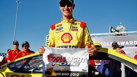 9. Chicagoland Speedway, Joey Logano, 189.414 mph, Sept. 13, 2013