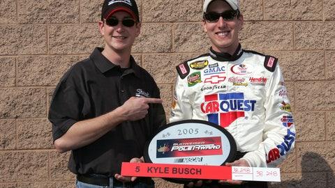 12. Auto Club Speedway, Kyle Busch, 188.245 mph, Feb. 25, 2005