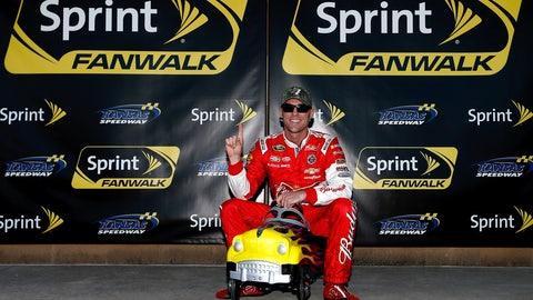 6. Kansas Speedway, Kevin Harvick, 197.773 mph, Oct. 3, 2014