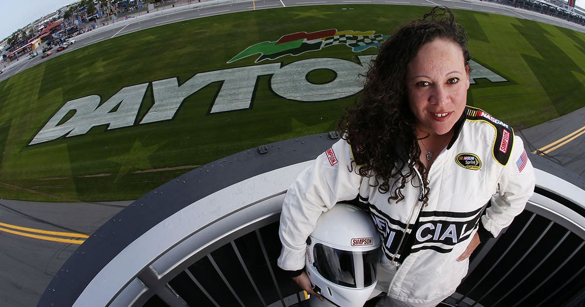Daytona 500 Chief Starter Kim Lopez Hopes To Be Role Model