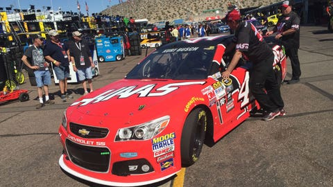 Friday garage pass: Phoenix International Raceway
