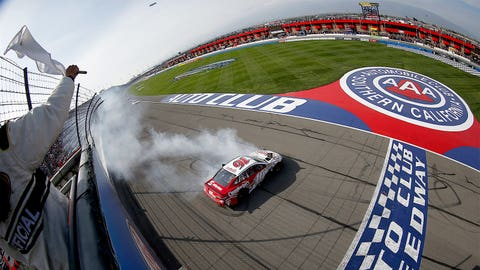 Photos: NASCAR goes Hollywood at Auto Club Speedway