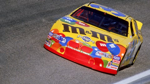 Sweet stuff: Candy-sponsored cars