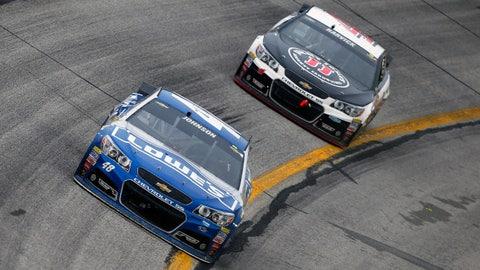 It's a two-car race