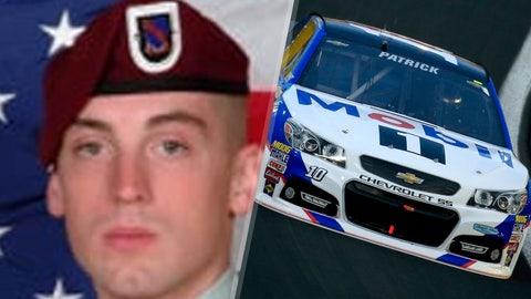 Army Cpl. Steven R. Koch/No. 10 Stewart-Haas Racing Chevrolet of Danica Patrick