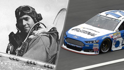 Air Corps Capt. Jim Browning/No. 17 Roush Fenway Racing Ford of Ricky Stenhouse Jr.