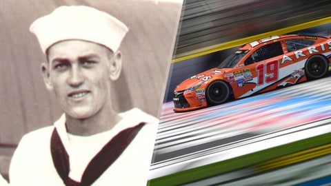 Navy Seaman Lynn A. Thrasher/No. 19 Joe Gibbs Racing Toyota of Carl Edwards