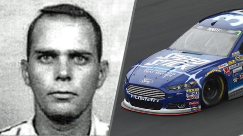 Air Force Capt. John Bartley/No. 35 Front Row Motorsports Ford of Cole Whitt