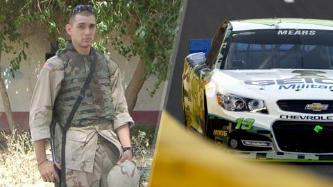 Army Sgt. Joshua J. Rimer/No. 13 Germain Racing Chevrolet of Casey Mears