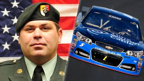 Army Sgt. First Class Riley Gene Stephens/No. 5 Hendrick Motorsports Chevrolet of Kasey Kahne