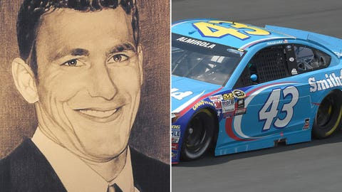 Air Force Capt. Derek M. Argel/No. 43 Richard Petty Motorsports Ford of Aric Almirola