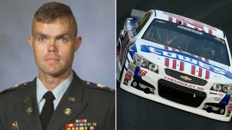 National Guard 1st Lt. Robert L. Henderson II/No. 48 Hendrick Motorsports Chevrolet of Jimmie Johnson