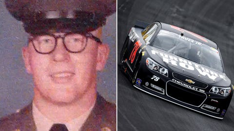 Army Sgt. Edwin Penn/No. 78 Furniture Row Racing Chevrolet of Martin Truex Jr.