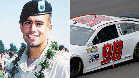 Army 1st Lt. Nainoa K. Hoe/No. 98 Phil Parsons Racing Ford of Josh Wise